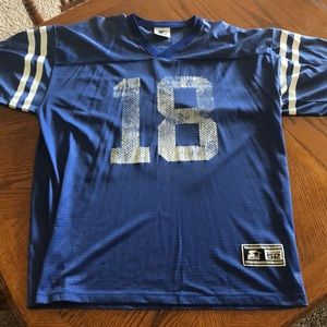 Peyton Manning Rookie Indianapolis Colts Jersey